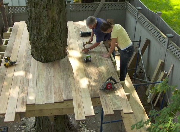 tips for building a backyard treehouse